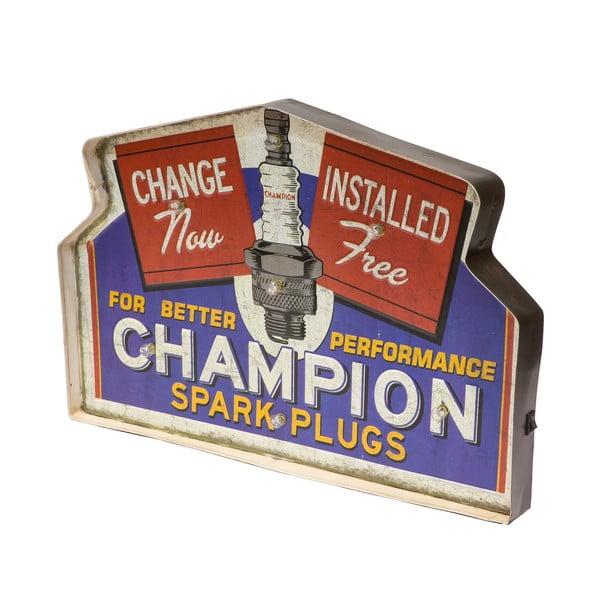 Tablica ścienna z lampkami LED Novita Champion