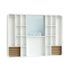 Naścienna szkatułka White Schmuck, 60x45 cm