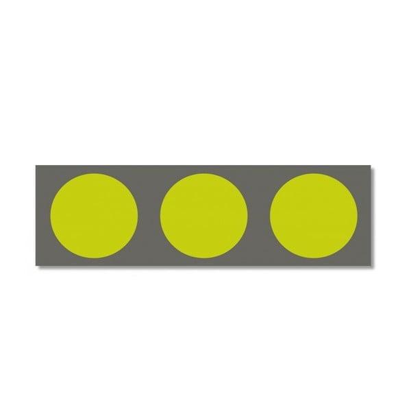 Bieżnik na stół Green meets Grey