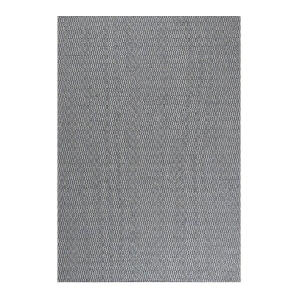 Wełniany dywan Charles Indigo, 140x200 cm