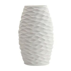 Ceramiczny wazon, biały, 32,5 cm