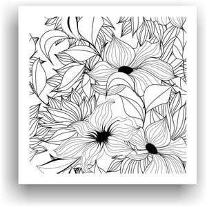 Obraz do kolorowania 3, 50x50 cm