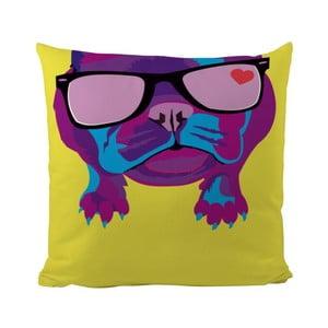 Poduszka Classic Dog Man, 50x50 cm