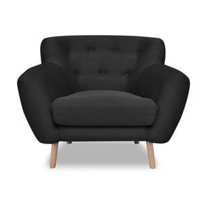 Ciemnoszary fotel Cosmopolitan design London