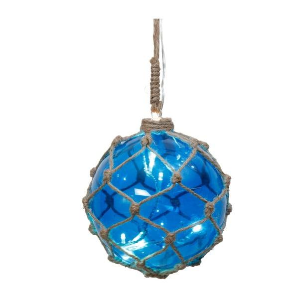 Świecąca dekoracja Noah Blue, 12 cm
