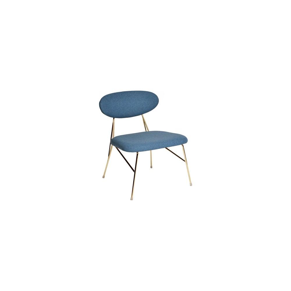 Niebieskie krzesło Leitmotiv Queen