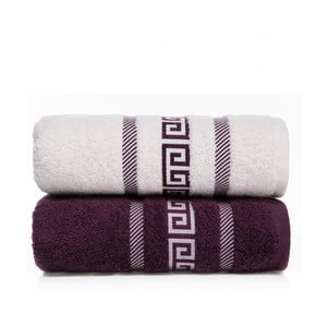 Zestaw 2 ręczników Cecila V3, 50x90 cm