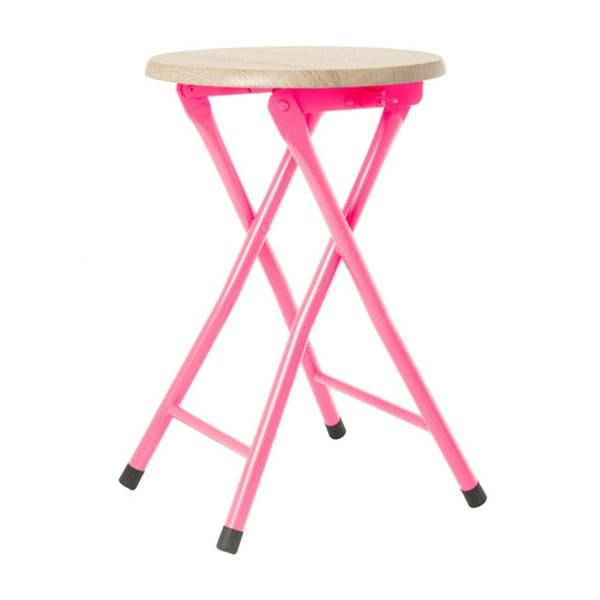 Stołek Bar Bright Pink