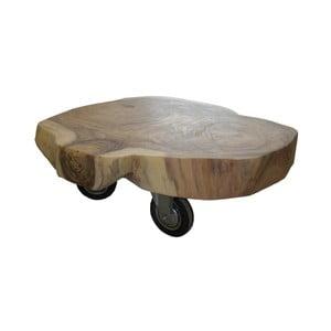 Stolik z drewna mungur HSM Collection Feeta
