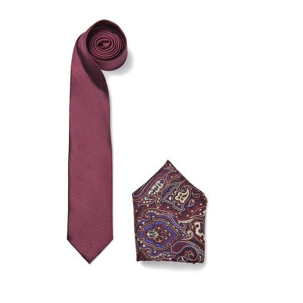 Zestaw krawata i poszetki Ferruccio Laconi 11