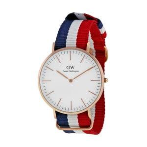 Zegarek z detalami w różowozłotej barwie Daniel Wellington Cambridge, ⌀40mm