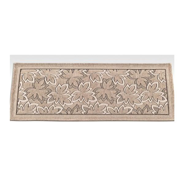 Wytrzymały dywan kuchenny Webtapetti Maple Tortora, 55x190 cm