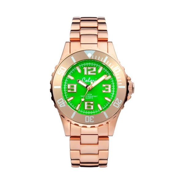 Zegarek Colori 33 Rose Green Colour
