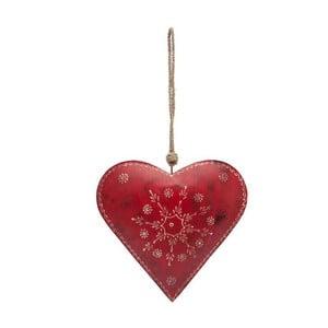 Dekoracja wisząca Contry Red Heart Single