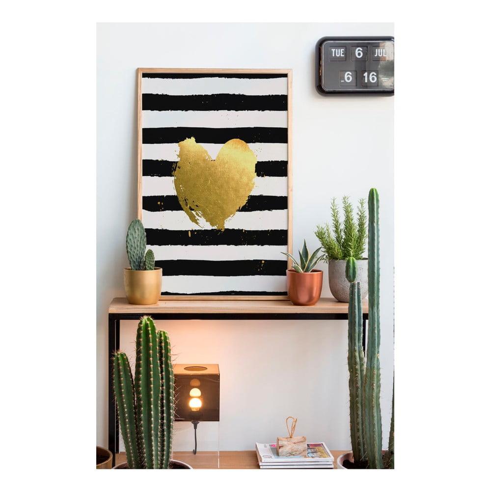 obraz really nice things heart 60x40 cm bonami. Black Bedroom Furniture Sets. Home Design Ideas
