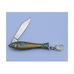 Scyzoryk rybka, błękitne kryształki