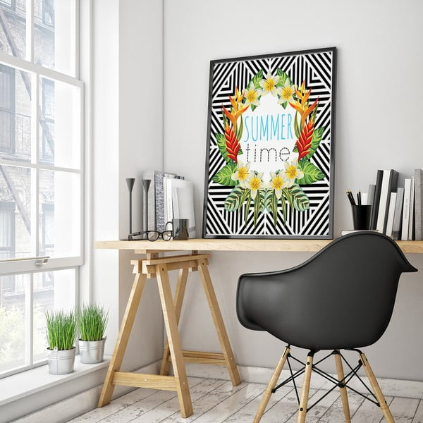 Plakat Summer Time, 30 x 40 cm