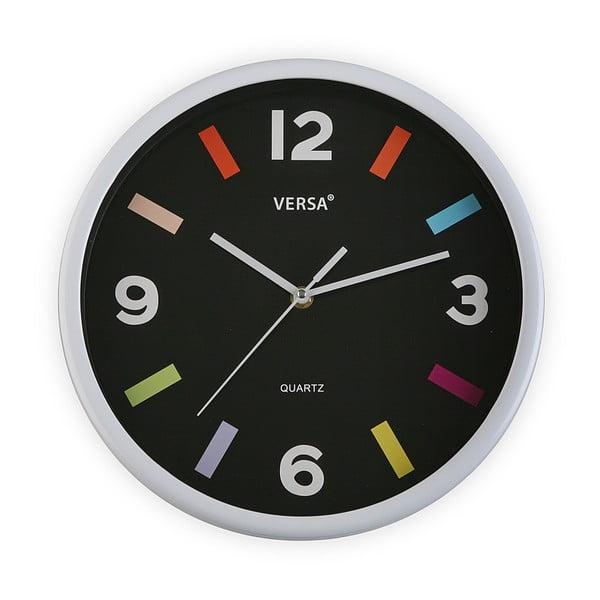 Zegar ścienny Versa Moderna Black