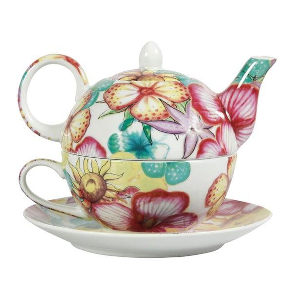 Porcelanowy dzbanek Blooming, 0.5 l