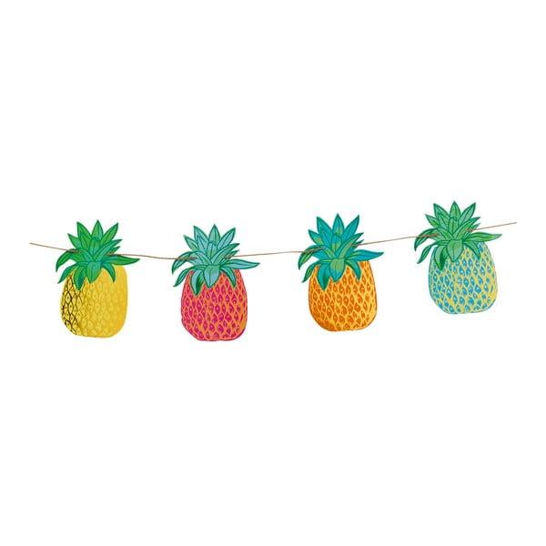 Girlanda z papierowymi ananasami Talking Tables Fiesta