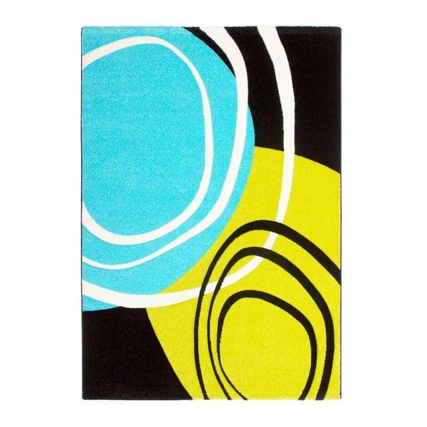 Dywan Lifestyle 114 niebieski/zielony, 120x170 cm
