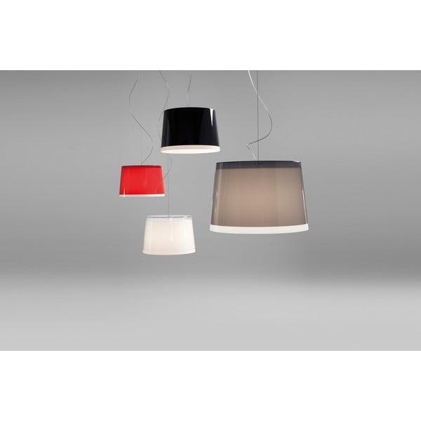 Biała lampa wisząca Pedrali L001S/BB