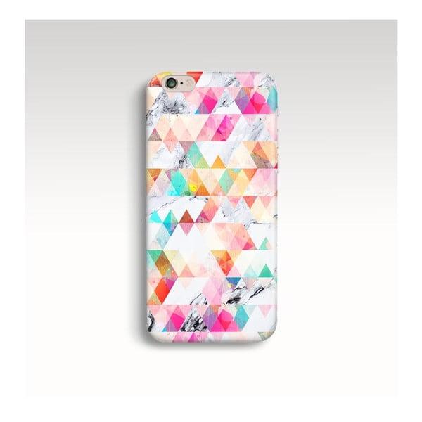 Etui na telefon Marble Geometric na iPhone 5/5S