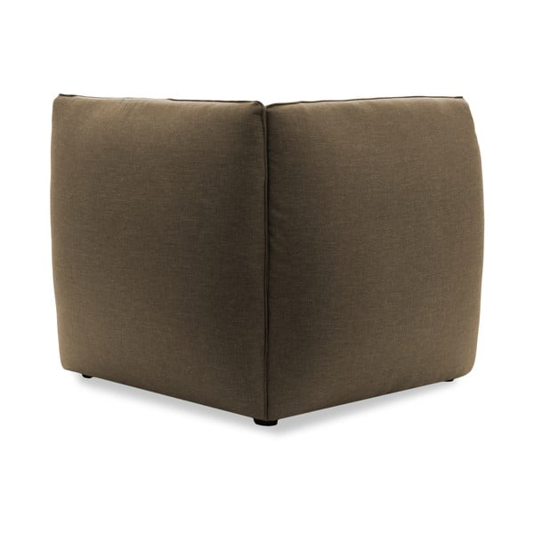 Moduł lewostronny do sofy VIVONITA Cube Sawana, ciemny beż