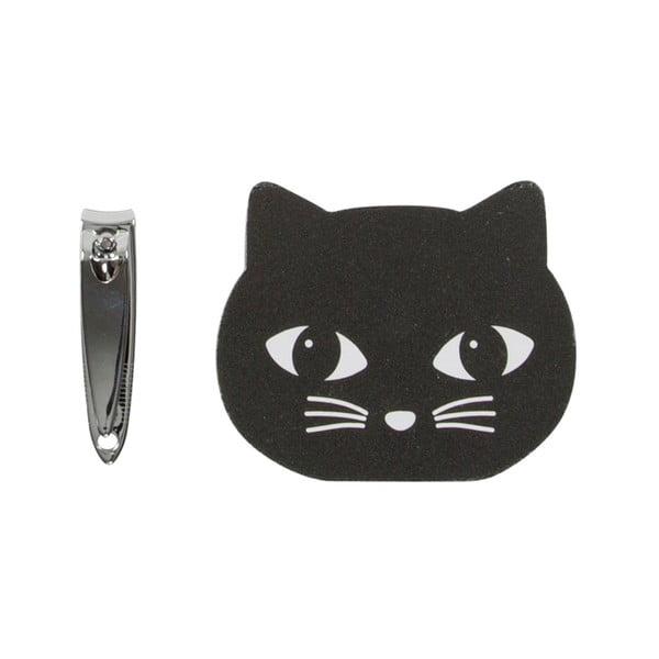 Pilnik i obcinacz do paznocki Sass & Belle Black Cat