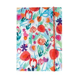 Notatnik   A5 Portico Designs Spring Floral, 160 str.