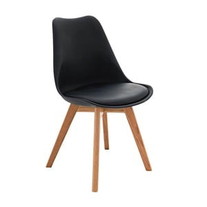 Krzesło Carisse, czarne