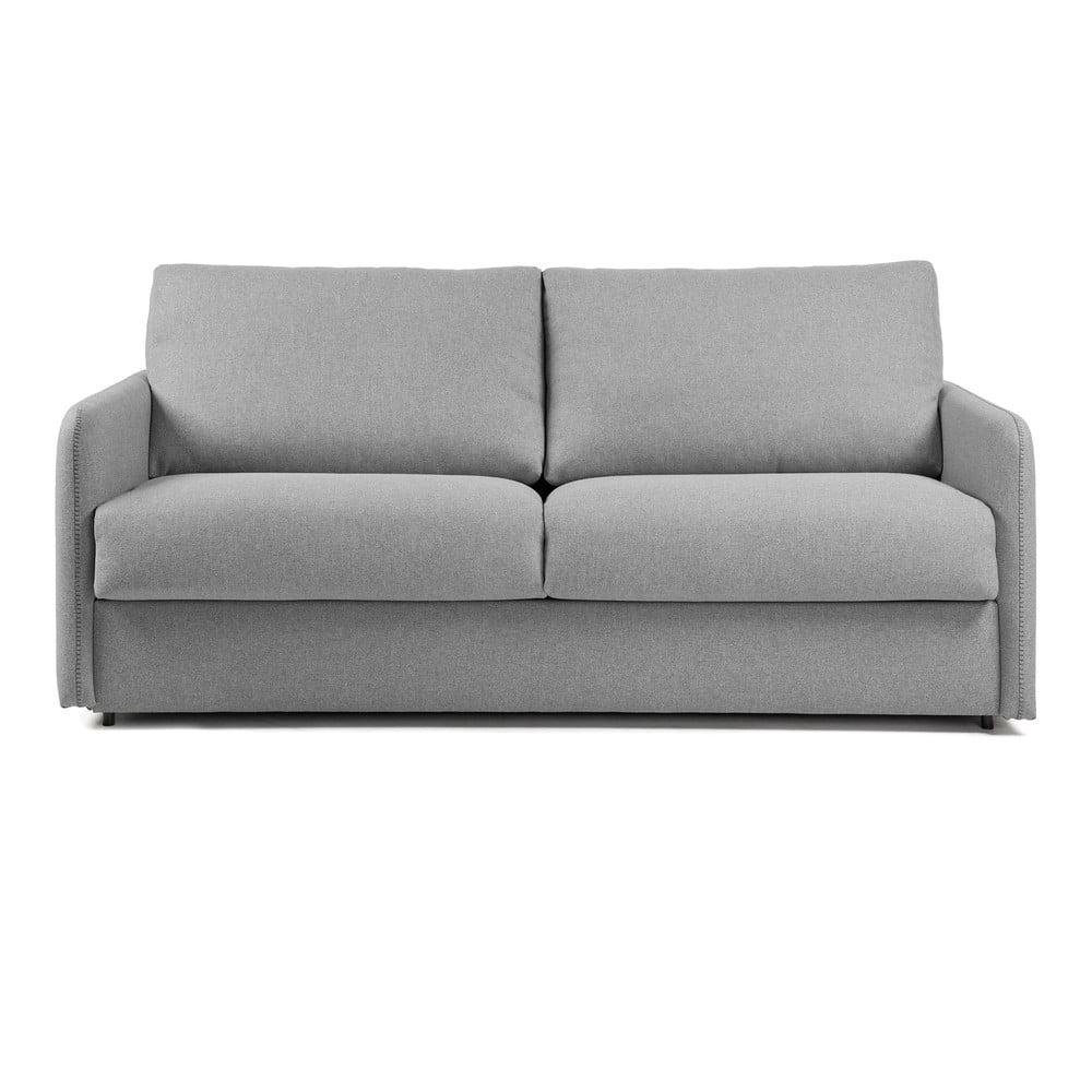 Szara sofa rozkładana La Forma Komoon