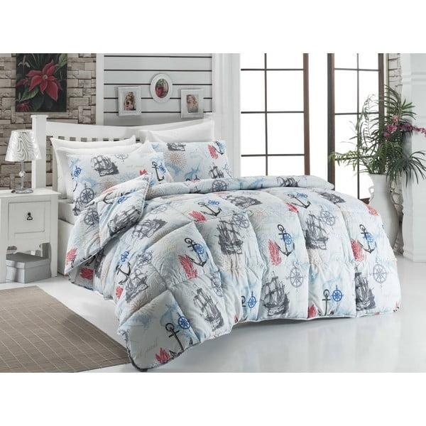 Narzuta pikowana na łóżko dwuosobowe Sandra, 195x215 cm