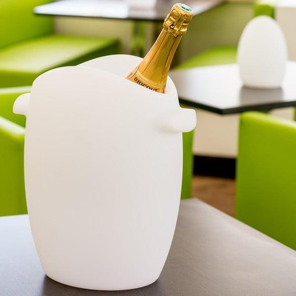 Lampa i pływający cooler do butelek Champagne Bucket