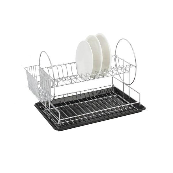 Dwupiętrowy ociekacz Chrome Dish