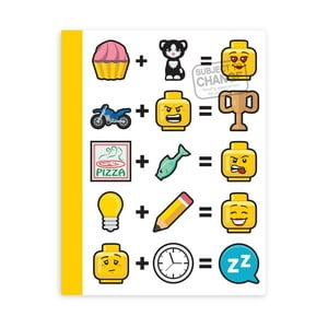 Zeszyt w twardej oprawie LEGO® Iconic