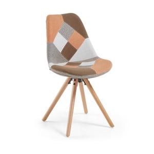 Krzesło Lars, brązowe