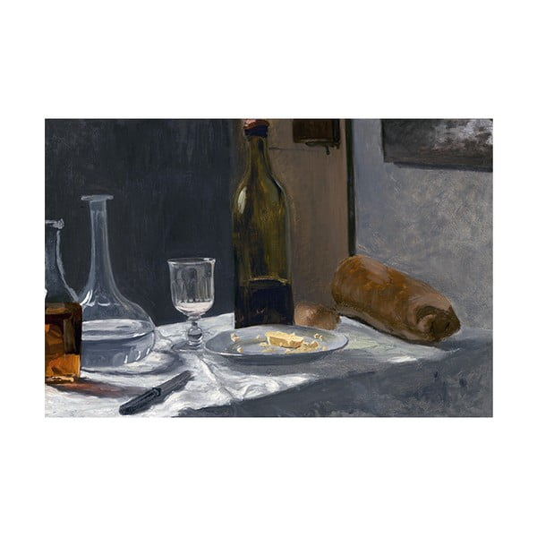 Reprodukcja obrazu Claude'a Moneta - Still Life with Bottle, 45x30 cm
