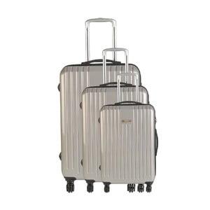 Zestaw 3 walizek podróżnych Majestik Metal