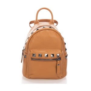 Jasnobrązowy plecak Massimo Castelli Mare