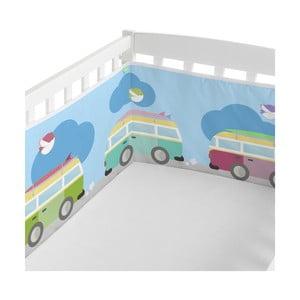 Ochraniacz do łóżeczka Happynois Surf Time, 210x40 cm