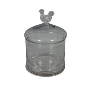 Szklany pojemnik Poulle