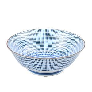 Porcelanowa Blue Stripes, 19 cm