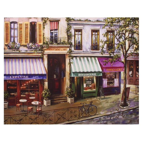 Obraz na płótnie Boulangerie, 56x46 cm