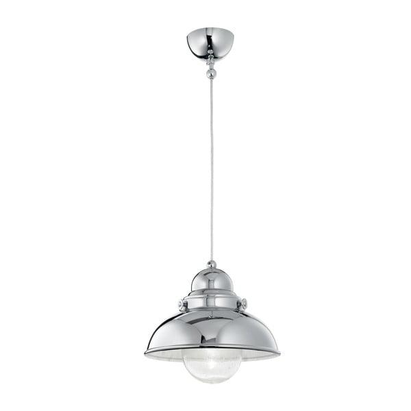 Lampa wisząca Crido Loft Chrome, 43 cm