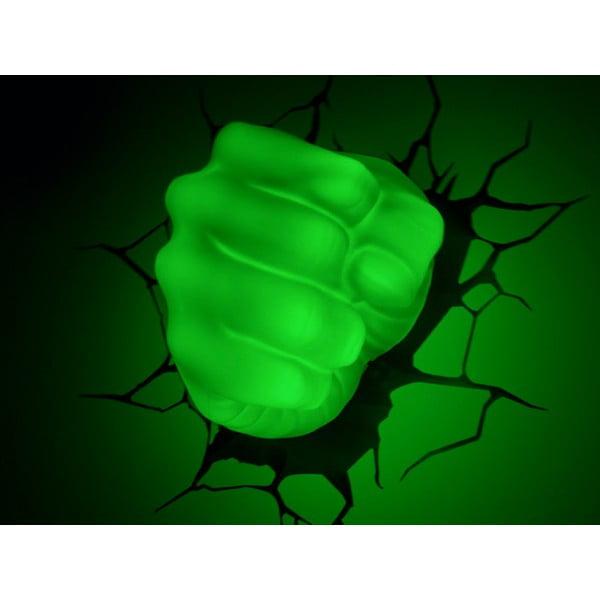 Kinkiet z naklejką Hulk