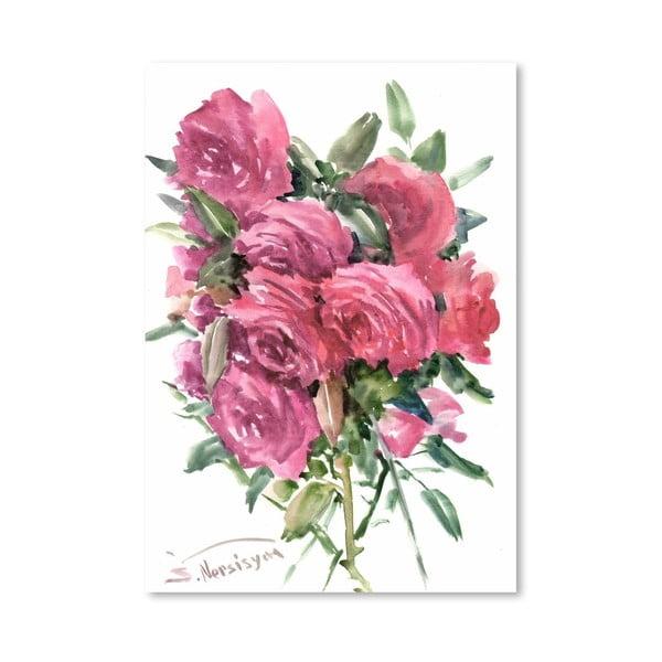 Plakat English Roses (projekt Suren Nersisyan)