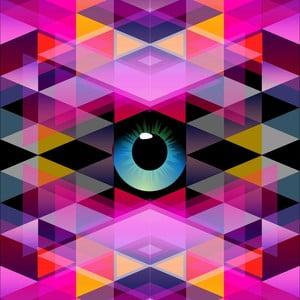 Obraz Oko, 60x60 cm