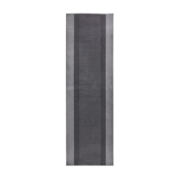 Dywan Basic, 80x250 cm, szary
