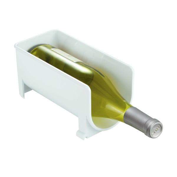 Stojak na wino Clarity White, 20x10 cm
